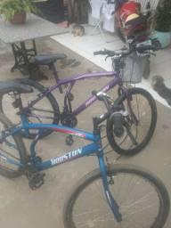 Vendo bicicletas seminovas 21 macha