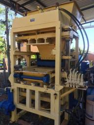 Máquina Hidráulica Fazer Bloco De Cimento Concreto