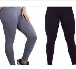 Calcas Leggings Preta , Cinza , e Jeans