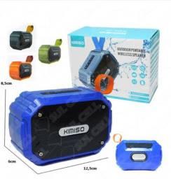 Som portátil kimiso resistente a água amplificada bluetooth - Promoção Imperdível!!!
