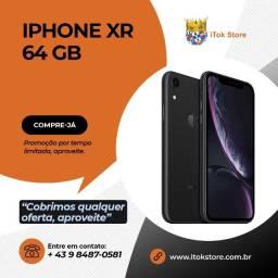 Promoção - Iphone XR 64GB Novos lacrados com 1 ano de garantia + brindes