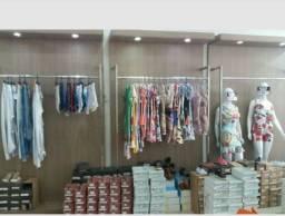 Expositor em Inox  excelente  para loja boutique oh brecho