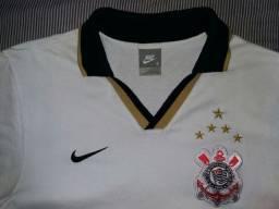 Camisa Polo Nike Corinthiand Legítimo Viagem Social