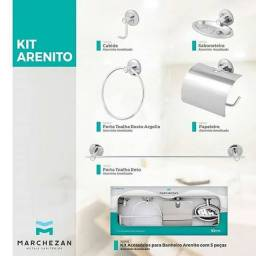 Kit de acessorios para banheiro