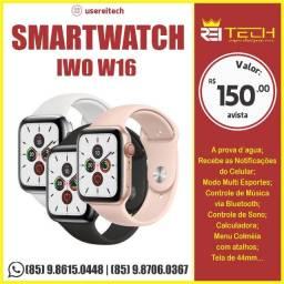 Smartwatch W16 Tela Infinita 44 Mm Iwo 16