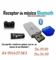 Bluetooth para som de carro ou micro system