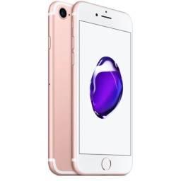 Vendo iPhone 7 32gb cor ouro com NF e caixa.