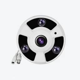 CÂMERA FULL HD 1080P 4X1  LENTE 360°