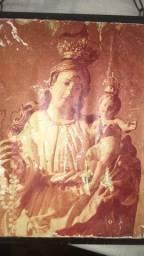 Antigo quadro da padroeira de natal