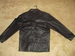 Jaqueta de couro ´puro