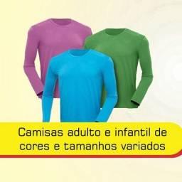 Camisas proteção solar UV50
