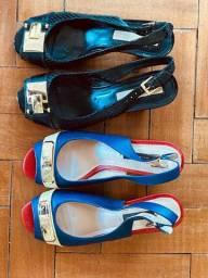 2 pares Sapatos Jorge Bischoff 36