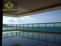 Ref: Kiwi 5786D 4 suites no melhor ponto da orla da praia da costa