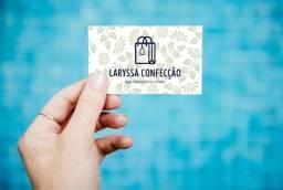 Cartão de visita de moda personalizado