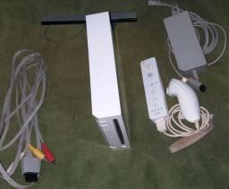 Nintendo Wii desbloqueado pelo chipe e usb.