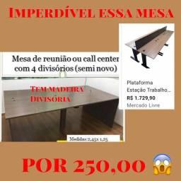 Mesa de Reunião -call center- estação