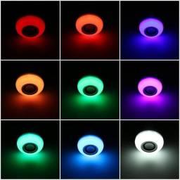 Lâmpada Led Music Bulb Toca música 6 Core Bluetooth - Promoção Imperdível!!!!!