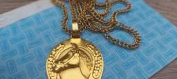 cordoã ouro maciço