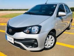 Toyota Etios Sedan X 1.5 Automático 2019 Vendo e financio
