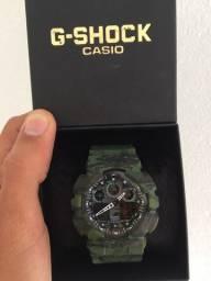 Relógio Casio G-Shock (A prova d?água) GA-100 Camuflado