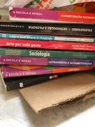 Doando esses livros