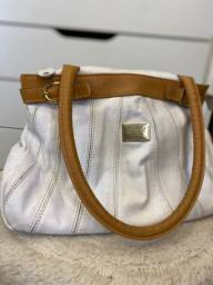 Bolsa de couro branca da LE POSTICHE