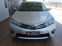 Toyota corolla xei 2.0 automático 2014/2015