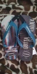 Sapato e chinela