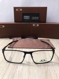 Óculos Oakley Steel Plates armação de alumínio