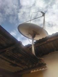 Antena para usar canal fechado
