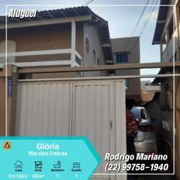Alugo excelente casa com 01 quarto mobiliada na Gloria/Macaé-Rj