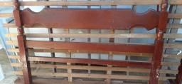 Desapegando: Cama de casal madeira maciça Itaúba com preço de desapego (ITAJAÍ)