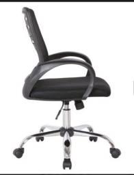 Cadeira de escritório secretaria giratória light