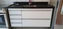 Armário MDF com bancada, cuba e torneira. kit completo