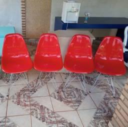 Cadeira pé palito metal