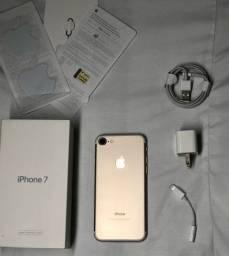 iPhone 7 32GB IMPECÁVEL COM CAIXA