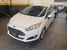 Ford New fiesta sedan titanium automático 7 airbags zerado 6 mil de entrada+48x
