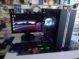 PC Gamer Completo roda Free Fire, LoL, Valorant
