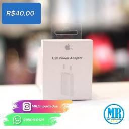 super promoção Kit caregador iphone 10w + 1 cabo Iphone Lightning (25% de desconto).