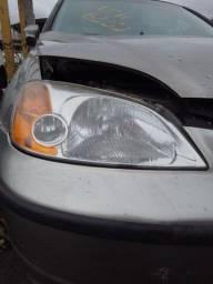 Farol Original ,lado carona Honda Civic 05