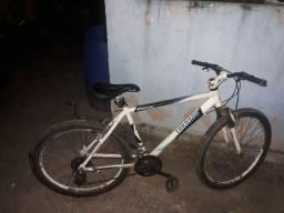 Bicicleta de alumínio 24 marchas
