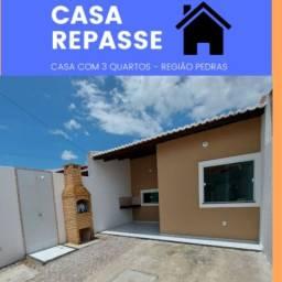 WF- Repasse Casa com 3 quartos venha conhecer!!