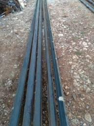 Viga de Ferro U 75 x 40 de 3mm