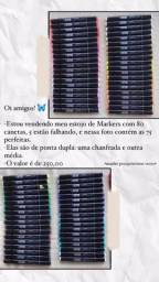 Canetas Markers 80 cores