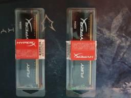 Memória ram DDR4 4GB 2400Mhz HyperX Fury
