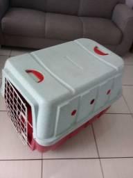 Vendo Caixa De Transporte Usada Para Cães Médio/Grande Porte Vermelha - Paranaguá