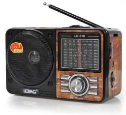 Rádio Portátil Retro
