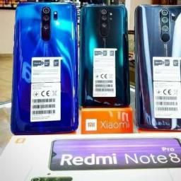 Redmi Note 8 Pro Azul/Verde 6 de ram +64Gb