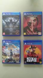 Jogos de PS4: Vendo ou troco