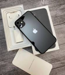 iPhone 11 64GB, Preto e Branco, Anatel, NF 12x R$368